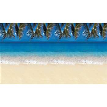 Fadeless Tropical Beach 48X12 4/Pk Sold As A Carton Of 4 Rolls By Pacon