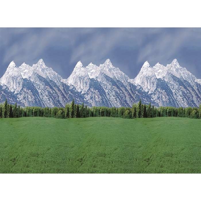 Fadeless Mountains 48X12 4/Pk Sold As A Carton Of 4 Rolls By Pacon