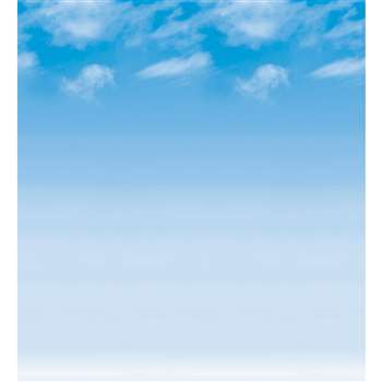 Fadeless 48X50 Wispy Clouds Roll By Pacon