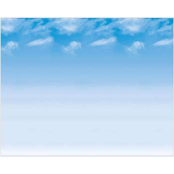 Fadeless 48X12 Wispy Clouds 4Rls Per Carton By Pacon
