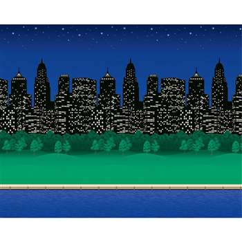 Fadeless 48X12 City Lights 4Rls Per Carton By Pacon