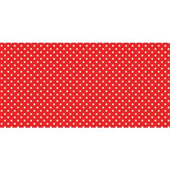 Fadeless 48X50Ft Classic Dots Red Design Roll, PAC57405