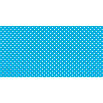 Fadeless 48X50Ft Classic Dots Aqua Design Roll, PAC57425