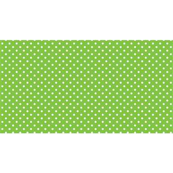 Fadeless 48X50 Classic Dots Lime Design Roll, PAC57435