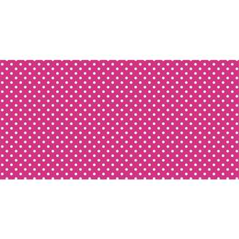 Fadeless 48X50Ft Classic Dots Pink Design Roll, PAC57445