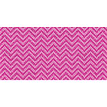 Fadeless 48X50Ft Pink Chevron Design Roll, PAC57705
