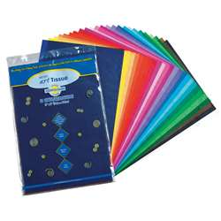 "Art Tissue 12"" X 18"" Asst.50Ct By Pacon"