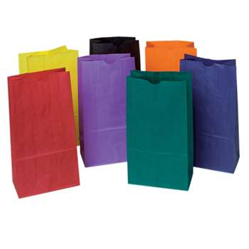 Bright Rainbow Bags By Pacon