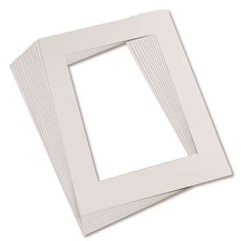 "Mat Frames 9"" X 12"" White By Pacon"