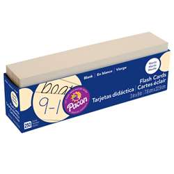 Blank Flash Cards 3X9 | PAC74100