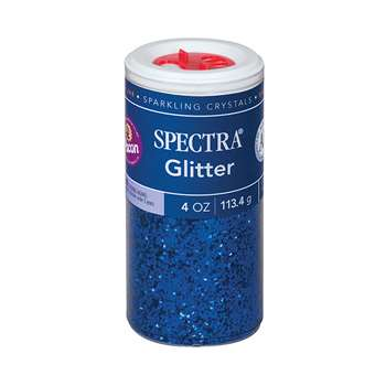 Glitter 4Oz Blue By Pacon
