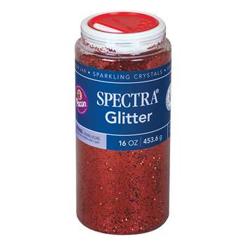 Glitter 1 Lb Red By Pacon