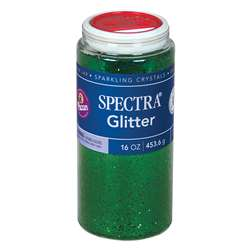 Glitter 1 Lb Green By Pacon