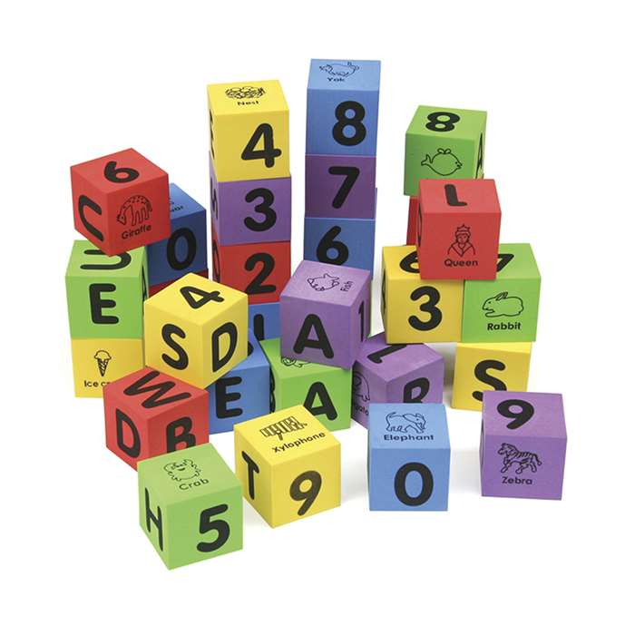 Wonderfoam Letters & Numbers Blocks, PACAC4416