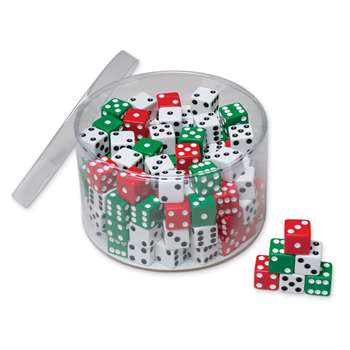 Drum Of Dice 144 Pcs, PACAC707