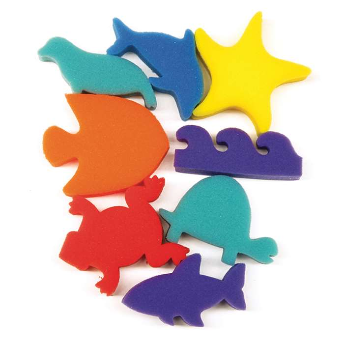 Paint Sponges Ocean Shapes Set, PACAC9073