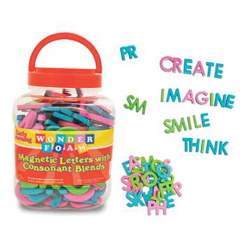 Wonderfoam Magnetic Letters with Consonant Blends, PACAC9305
