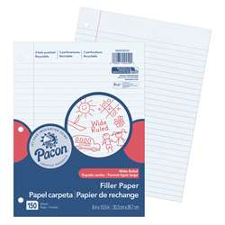 "Pacon Filler Paper Wide Rule 3/8"" Ruling, PACMMK09250"