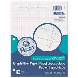 "Graph Paper 1/4"" Grid Ruling, PACMMK09273"