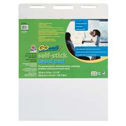 Gowrite Self-Stick Easel Pads 20X23 By Pacon
