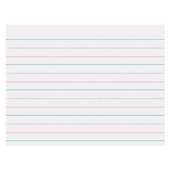 Zaner Bloser 1-1/8In Ruled Sulphite Paper Gr K By Pacon