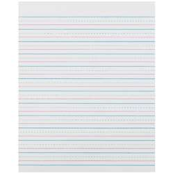 Zaner Bloser 1/2In Ruled Sulphite Paper Gr 3 By Pacon