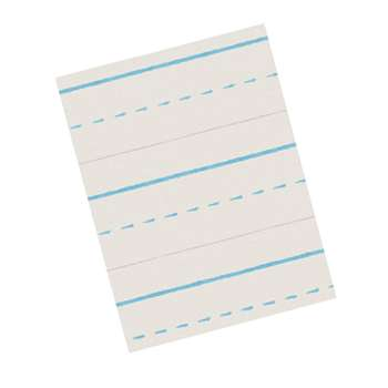 Zaner-Bloser Broken Midline Papers 1/2 X 1/4 Long By Pacon