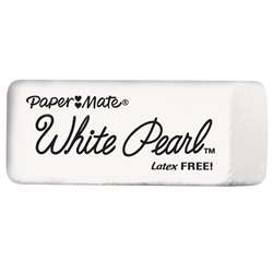 Papermate Pearl Erasers White By Sanford Lp