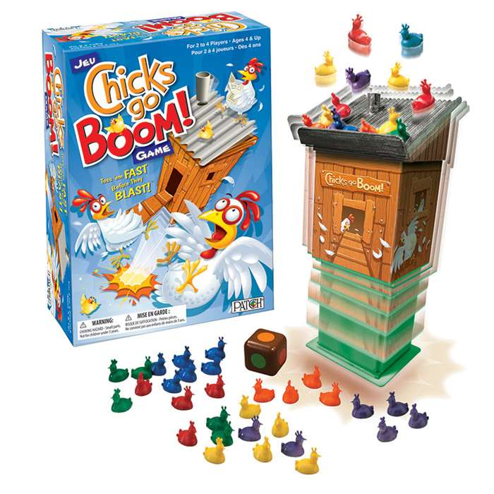 Chicks Go Boom Game, PAT26764