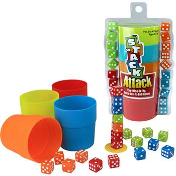 Stack Attack The Dice It Up Dont Let It Fall Game, PAT6890