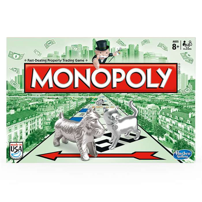 The Monopoly Game By Hasbro Toy Group