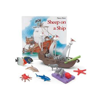 Sheep On A Ship 3D Storybook, PC-1574