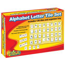 Alphabet Letter Tile Set, PC-2603