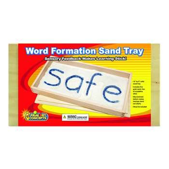 Word Formation Sand Tray Single, PC-3003