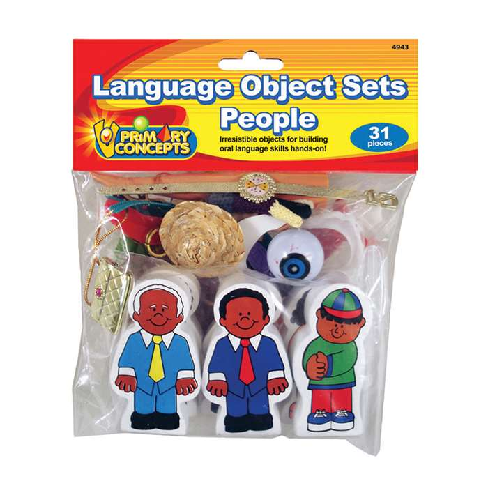 Language Object Sets People, PC-4943