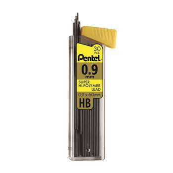 Super Hi Polymer Lead Refill 09Mm Medium Hb 30 Pcs, PENC29HB