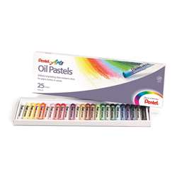 Pentel Oil Pastels 25 Ct By Pentel Of America