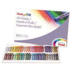 Pentel Oil Pastels 50 Count By Pentel Of America