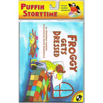 Froggy Gets Dressed Carry Along Book & Cd By Penguin Putnam