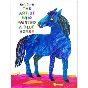 The Artist Who Painted A Blue Horse Book By Penguin Putnam