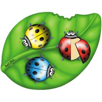 Ladybirds On A Leaf Shaped Puzzle, PPAS001