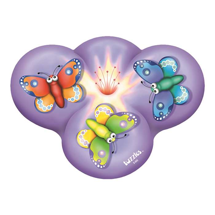 Butterflies On A Flower Shaped Puzzle, PPAS005