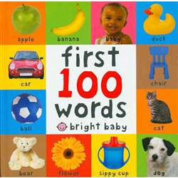 First 100 Words Big Board Book By Macmillan/Mps