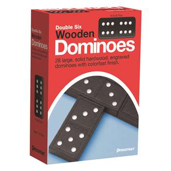 Double Six Dominoes By Pressman Toys