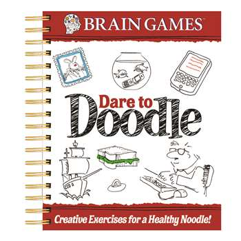 Brain Games Dare To Doodle Adult By Publications International Ltd