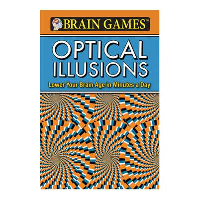 Brain Games Flexi Optical Illusions By Publications International Ltd