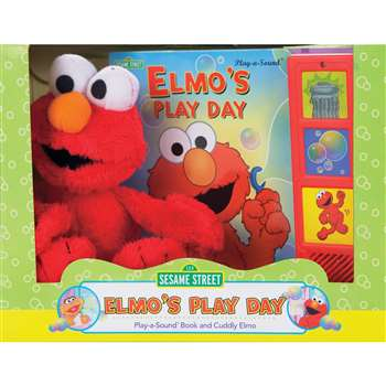 Sesame Street Book Box And Plush By Publications International Ltd