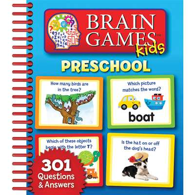 Brain Games Kids Preschool By Publications International Ltd