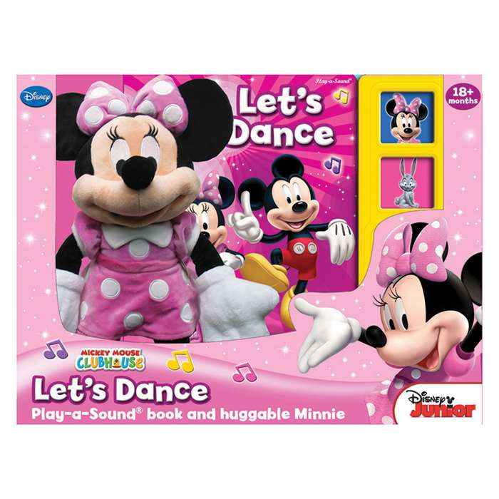 Minnie Mouse Book Box And Plush By Publications International Ltd
