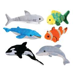 Sea Life Finger Puppets Set Of 6, PUC006567